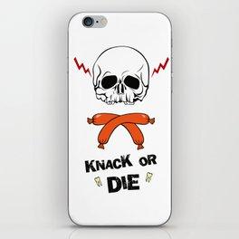 Knack Or Die iPhone Skin