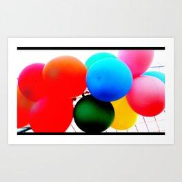 ballooooons Art Print