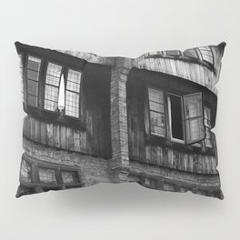 Windows in an Old Bar Pillow Sham