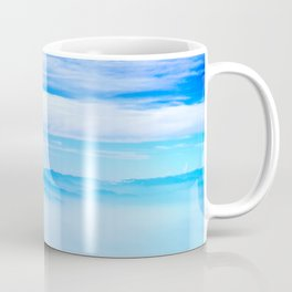 Heavenly Mountains In A Sea Of Clouds Coffee Mug