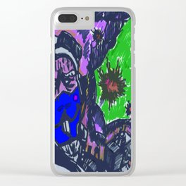 The jack rabbits squadron Clear iPhone Case