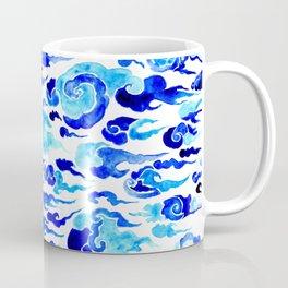Dreamy blue cloud design Coffee Mug