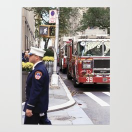 The Fire Dept of New York at 30 Rock Poster