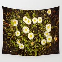 daisy Wall Tapestries featuring Daisy by ArtSchool
