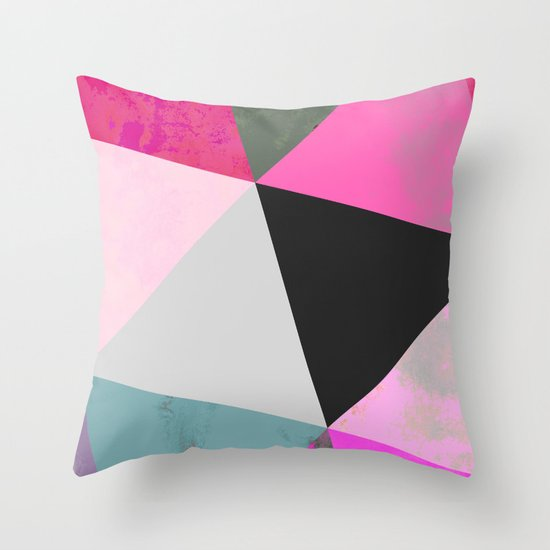 Abstract 03 Throw Pillow