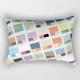 Poke-Pantone 3 (Hoenn Region) Rectangular Pillow
