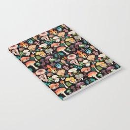 Mushroom heart Notebook