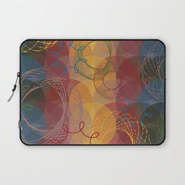 Vintage Spirals Laptop Sleeve