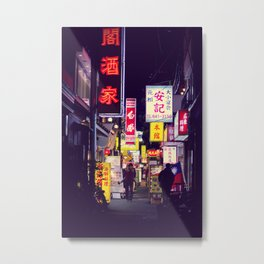 Shinjuku alley 2 Metal Print