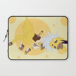Electric Stampunk Fox Laptop Sleeve