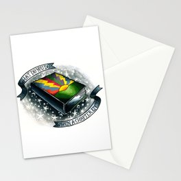 Just Hold On Stationery Cards