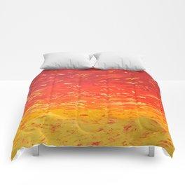 UFO SUNSET Comforters