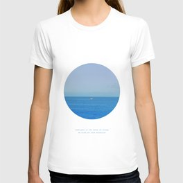 Sometimes in the waves of change we find our true direction T-shirt