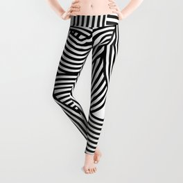 Moving lines Leggings