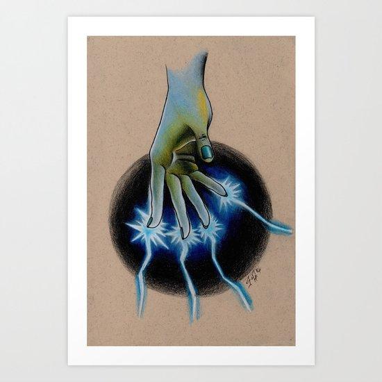 Magic fingers Art Print