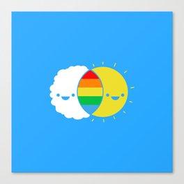 (((rainbows Canvas Print