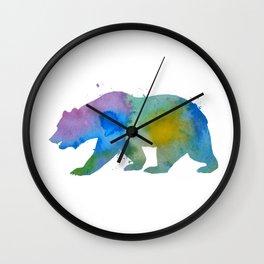 Bear Wall Clock