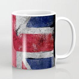 England flag Grunge Coffee Mug