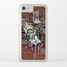 Where Are YOU - 2 / Density III Clear iPhone Case