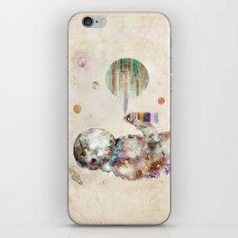 space graffiti iPhone Skin