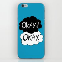 okay iPhone & iPod Skins featuring Okay? Okay.  by Tangerine-Tane