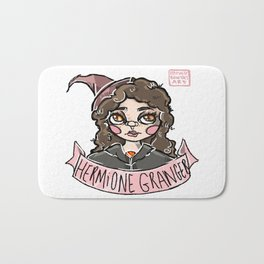 """""""The Brightest Witch of Her Age."""" Bath Mat"""