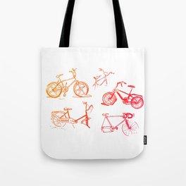 summer bikes Tote Bag