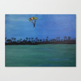 The Paraglider Canvas Print