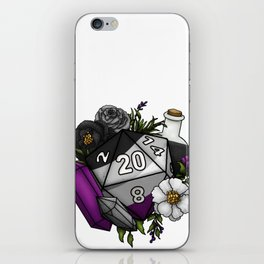 Pride Asexual D20 Tabletop RPG Gaming Dice iPhone Skin