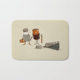 Assault and Battery Love Story. Bath Mat