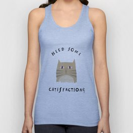 Catisfaction No. 8 Unisex Tank Top