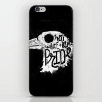 pride iPhone & iPod Skins featuring Pride by Matt Smiroldo