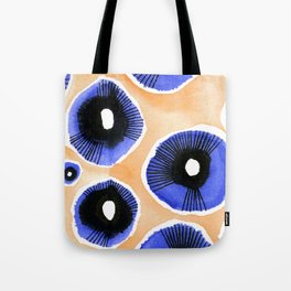 Poppy Eyed Tote Bag