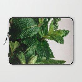 The Avant-Garden Forage || Mint Leaves  Laptop Sleeve