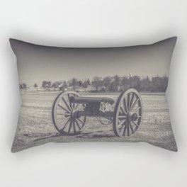 Artillery Placement Gettysburg National Military Park Pennsylvania Civil War Battlefield  Rectangular Pillow