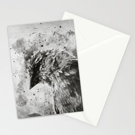 spotted madagascar fody wsbw Stationery Cards