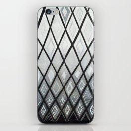 Woven Basket Diamonds Ombre #2 iPhone Skin