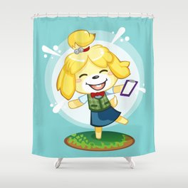 Isabelle Shower Curtain