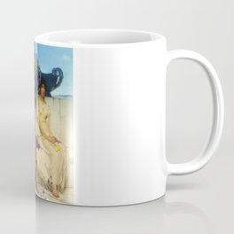 "Sir Lawrence Alma-Tadema ""An eloquent silence"" Coffee Mug"