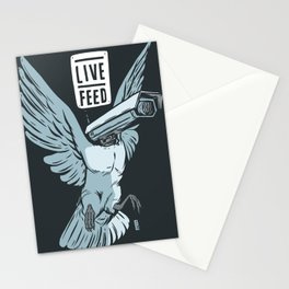 Live Feed Stationery Cards