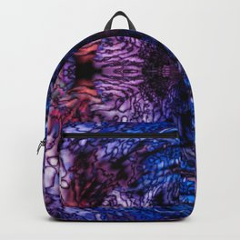 Stained Glass (Blue & Purple) Backpack