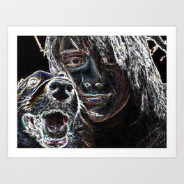 Coping With Fred Art Print