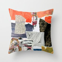 a sincere pleasure Throw Pillow