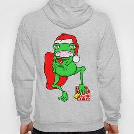 Frog Santa Hoody