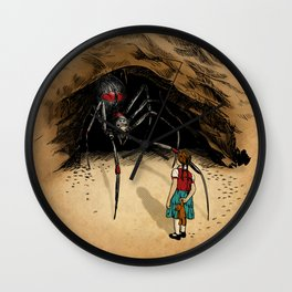 Consultation with the Spider Queen Wall Clock