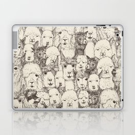 just alpacas natural Laptop & iPad Skin