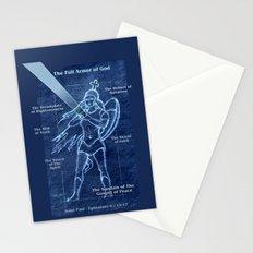 Full Armor of God - Warrior Girl 2 Stationery Cards