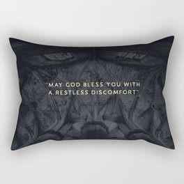 A RESTLESS DISCOMFORT Rectangular Pillow
