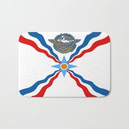 Assyrian Flag Bath Mat