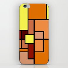The Colors of / Mondrian Series - Lion King  iPhone & iPod Skin